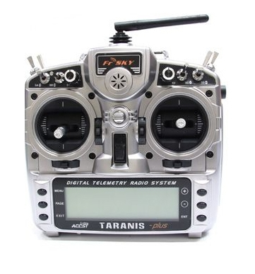 Radio Frsky Taranis 9XD+ pour le pack Vortex Pro 250