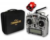 Radio FrSky Taranis X9D Plus + Module R9M (EU-LBT) + Valise souple