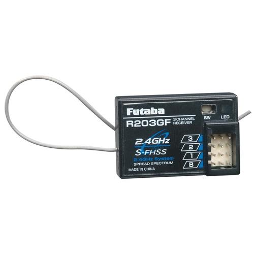 Radio Futaba 3PRKA 2.4 GHz et récepteur R203GF
