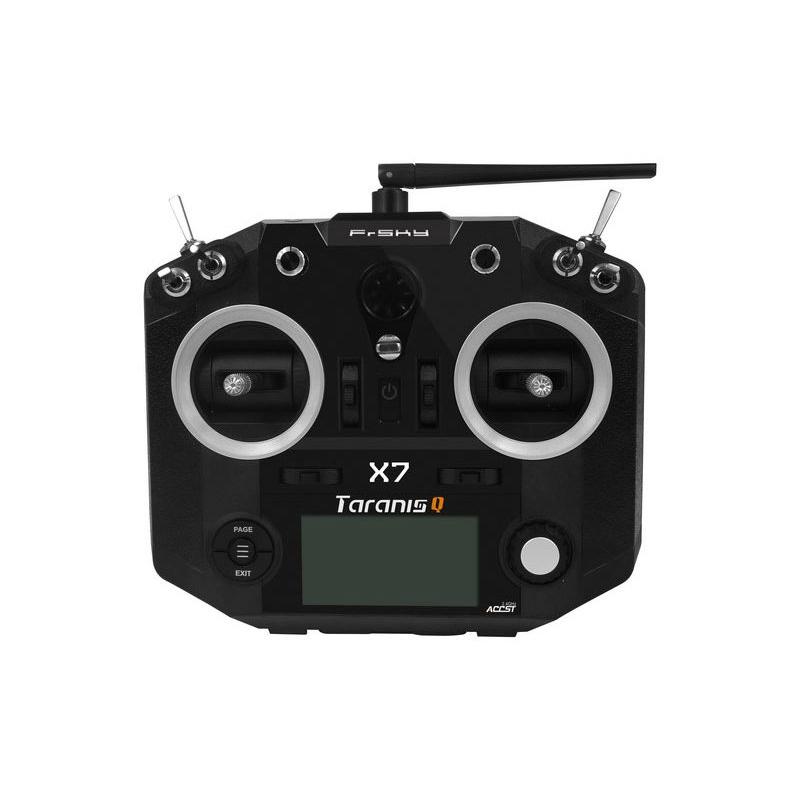 Radio Taranis Q X7 noire vue de face