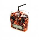 Radio Taranis X9D plus 16 voies 2.4Ghz ACCST Blazing Skull vue de devant