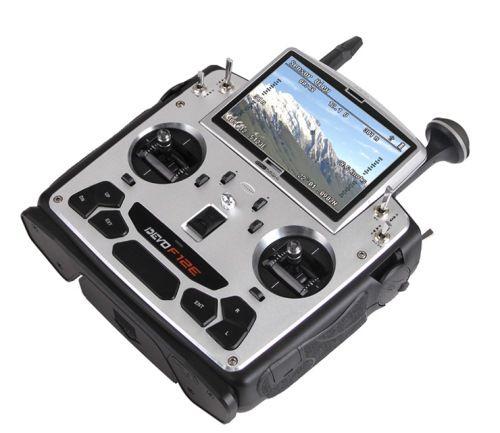 Découvrez la radiocommande DEVO F12E 2.4Ghz compatible avec le Tali H500 RTF.