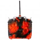 Radiocommande FrSky Taranis X9D Plus (Mode 2) et Valise souple EVA - Blazing Skull Edition