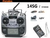 Radiocommande Futaba 14SG du TC1 en Mode I ou II