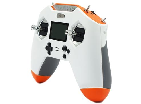 """Radiocommande Taranis X-Lite S \""""White & Orange\"""" - FrSky"""