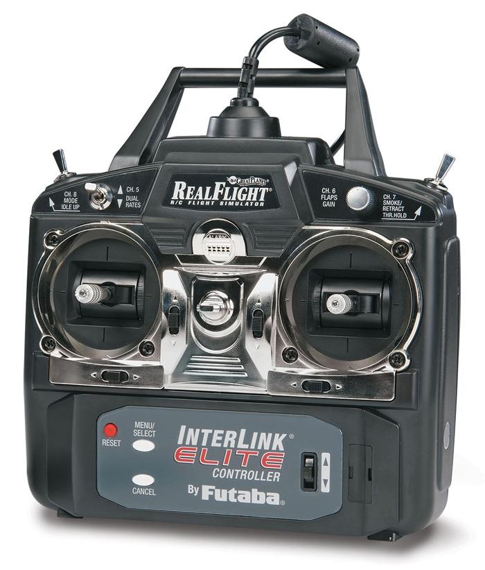 RealFlight Drone Edition et sa radio en Mode II