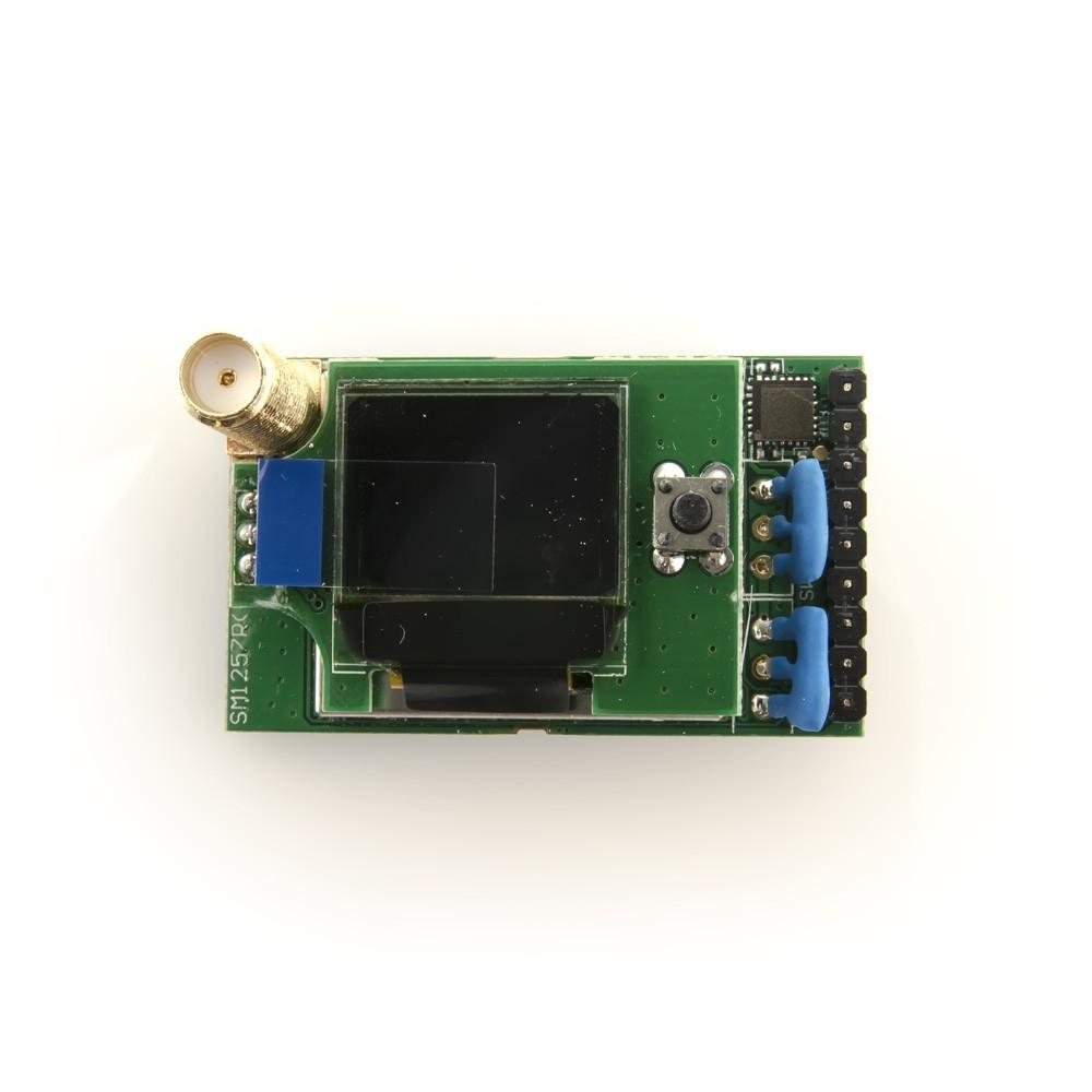Récepteur Fatshark 5,8 Ghz OLED pour lunettes vue de l'écran OLED