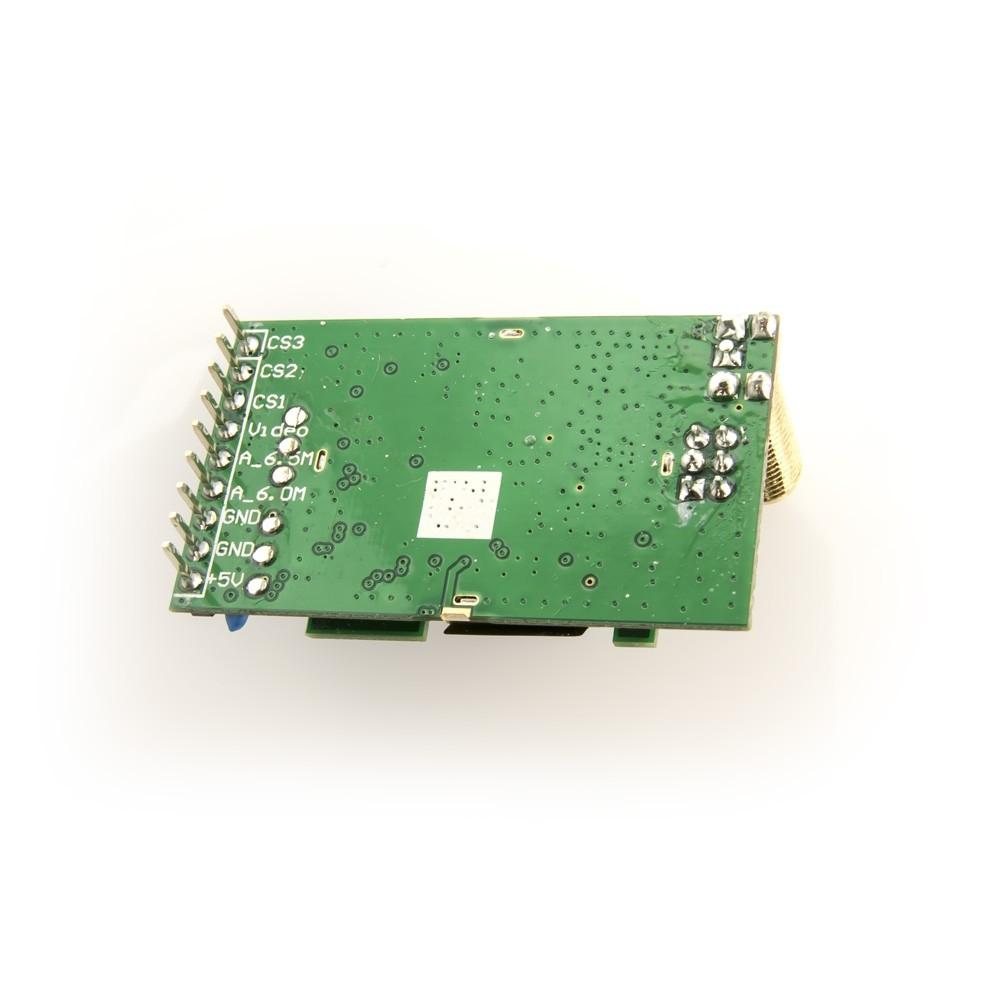 Récepteur Fatshark 5,8 Ghz OLED pour lunettes vue du PCB