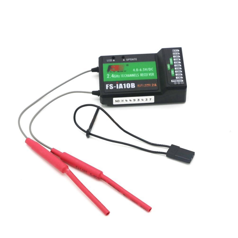Récepteur FS-iA10B avec son câble de bindage
