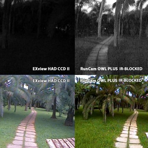 Rendu Caméra Runcam OWL Plus