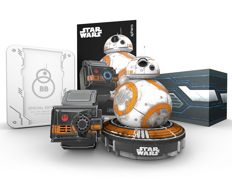 Robot droïde BB-8 Star Wars et Force Band special edition - Sphero