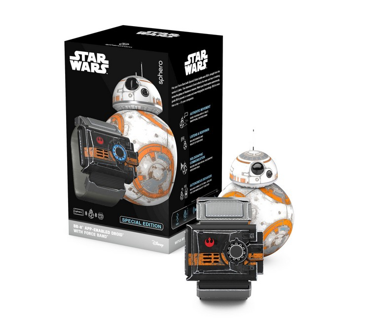 Robot BB-8 Star Wars & Force Band et son packaging