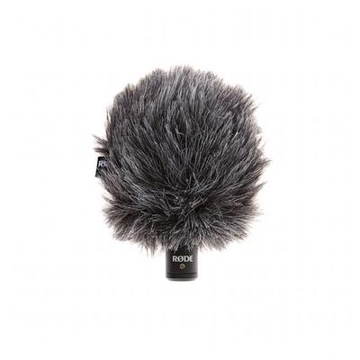Microphone VideoMicro Rode avec bonnette anti-vent