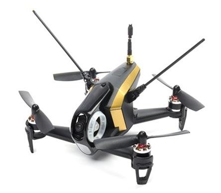 Rodeo 150 BNF drone noir vue de biais