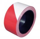 Ruban de signalisation 100m rouge et blanc