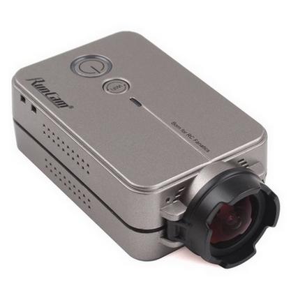 Caméra RunCam 2 HD 1080p grise vue de biais