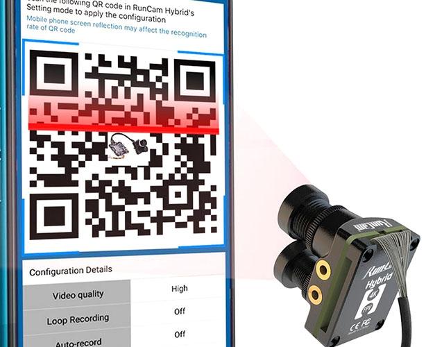 Runcam Hybrid - Caméra FPV et 4K avec DVR