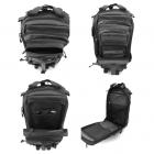 """Sac à dos """"Light Backpack"""" vue des différents compartiments"""