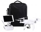 Sac à dos carbone pour DJI Phantom 4 avec drone et radio