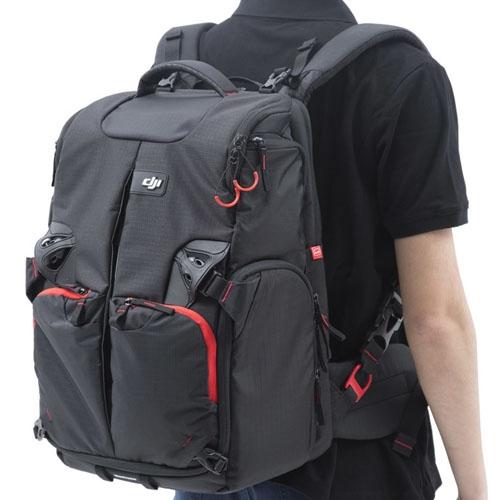 Sac placé sur le dos -  DJI & Manfrotto Phantom Backpack - vue arrière