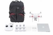 DJI & Manfrotto Phantom Backpack - drones, radio et ses accessoires : batteries, hélices et portables de 15 pouces.