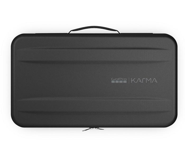 Coque rigide du sac à dos GoPro Karma - vue de haut