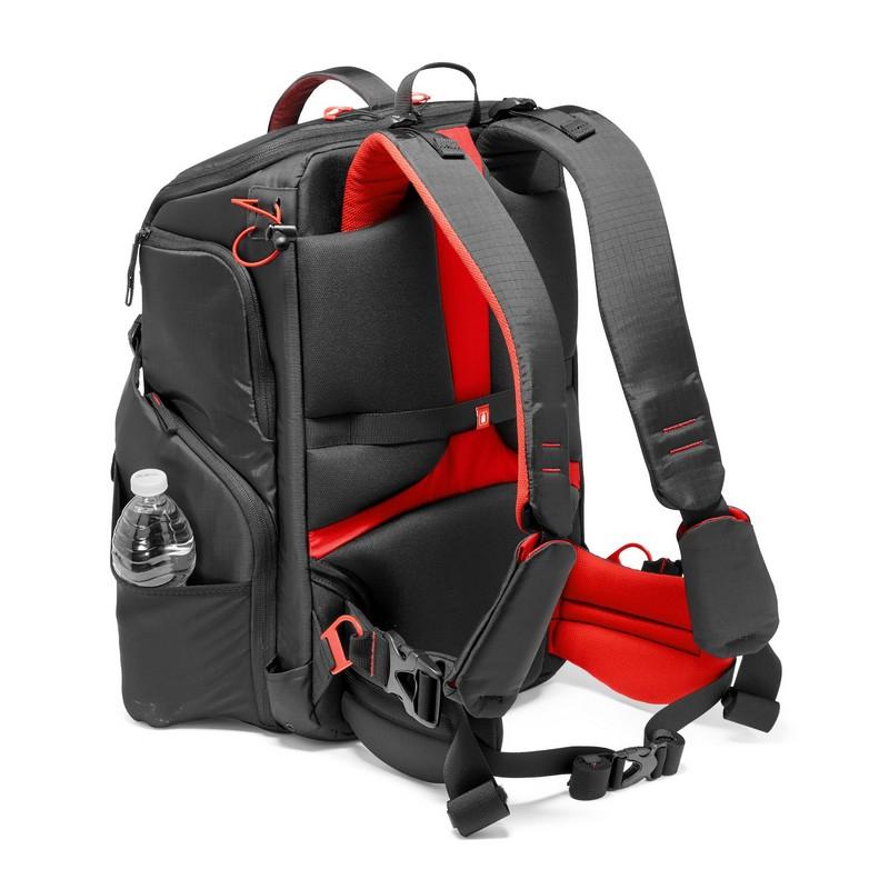 Le sac à dos Manfrotto Pro Light est extrêmement confortable à porter