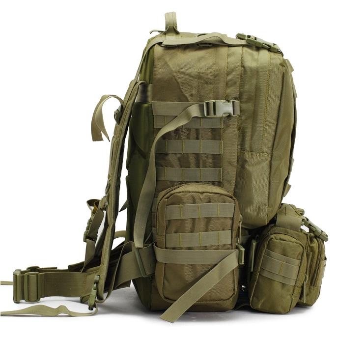 Sac à dos Tactical Backpack vue de profil