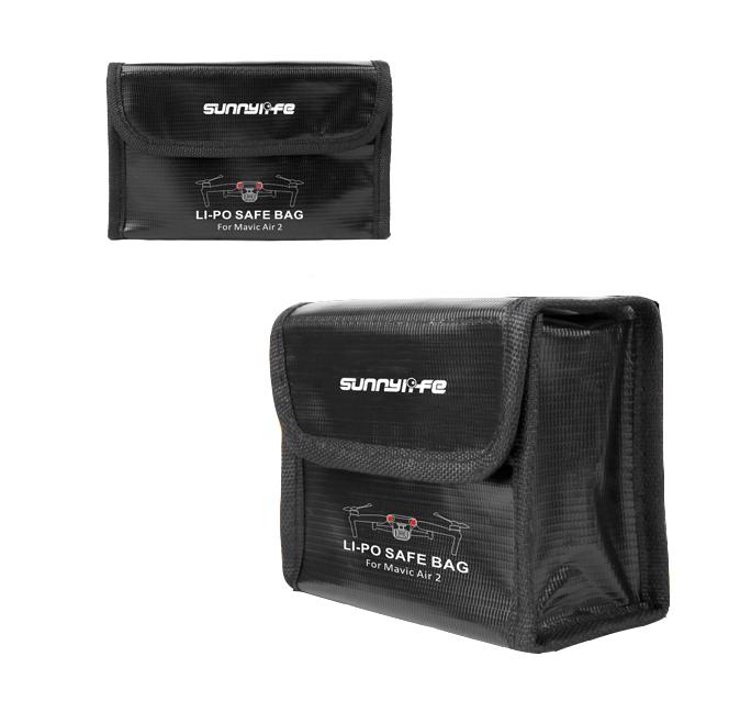 Sac de sécurité pour 3 batteries DJI Mavic Air 2