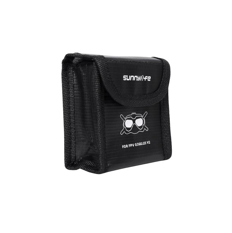 Sac de sécurité pour deux batteries casque DJI FPV V2 - Sunnylife
