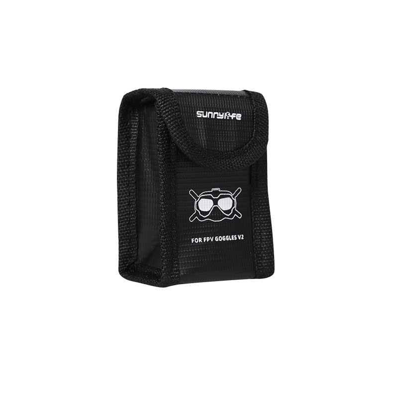 Sac de sécurité pour une batterie casque DJI FPV V2 - Sunnylife