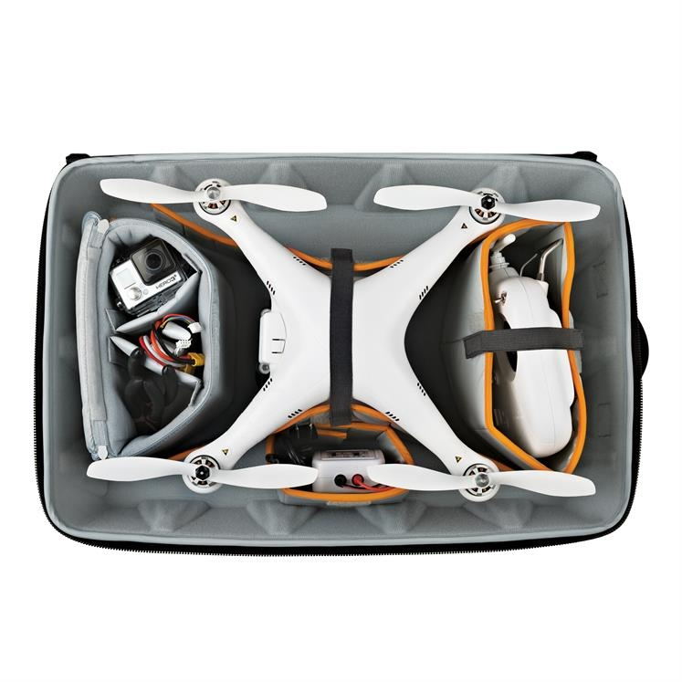 Ce sac est complètement compatible avec les drones Phantom DJI 1, 2 et 3.