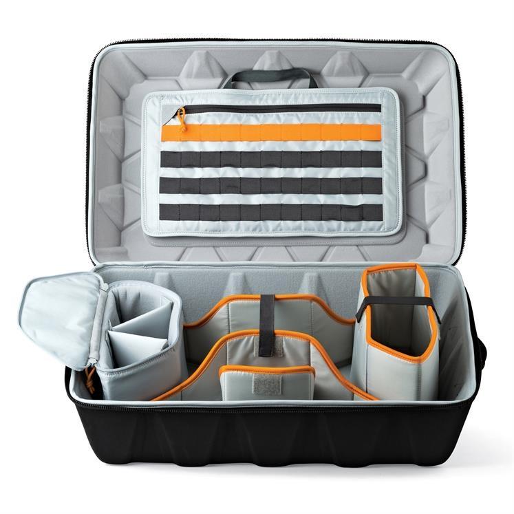 L\'intérieur du sac CS 400 est complétement modulable. Vous pourrez déplacer les parois pour mieux répondre à vos besoins.