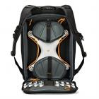 Sac Lowepro DroneGuard BP 450 AW ouvert avec DJIPhantom - vue de face