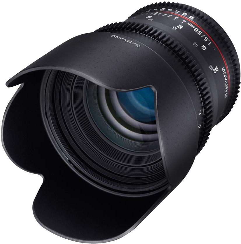 Samyang 50mm T1.5 VDSLR Canon