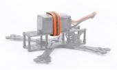 Sangles orange fluo pour batterie LiPo 15x250 mm - iFlight