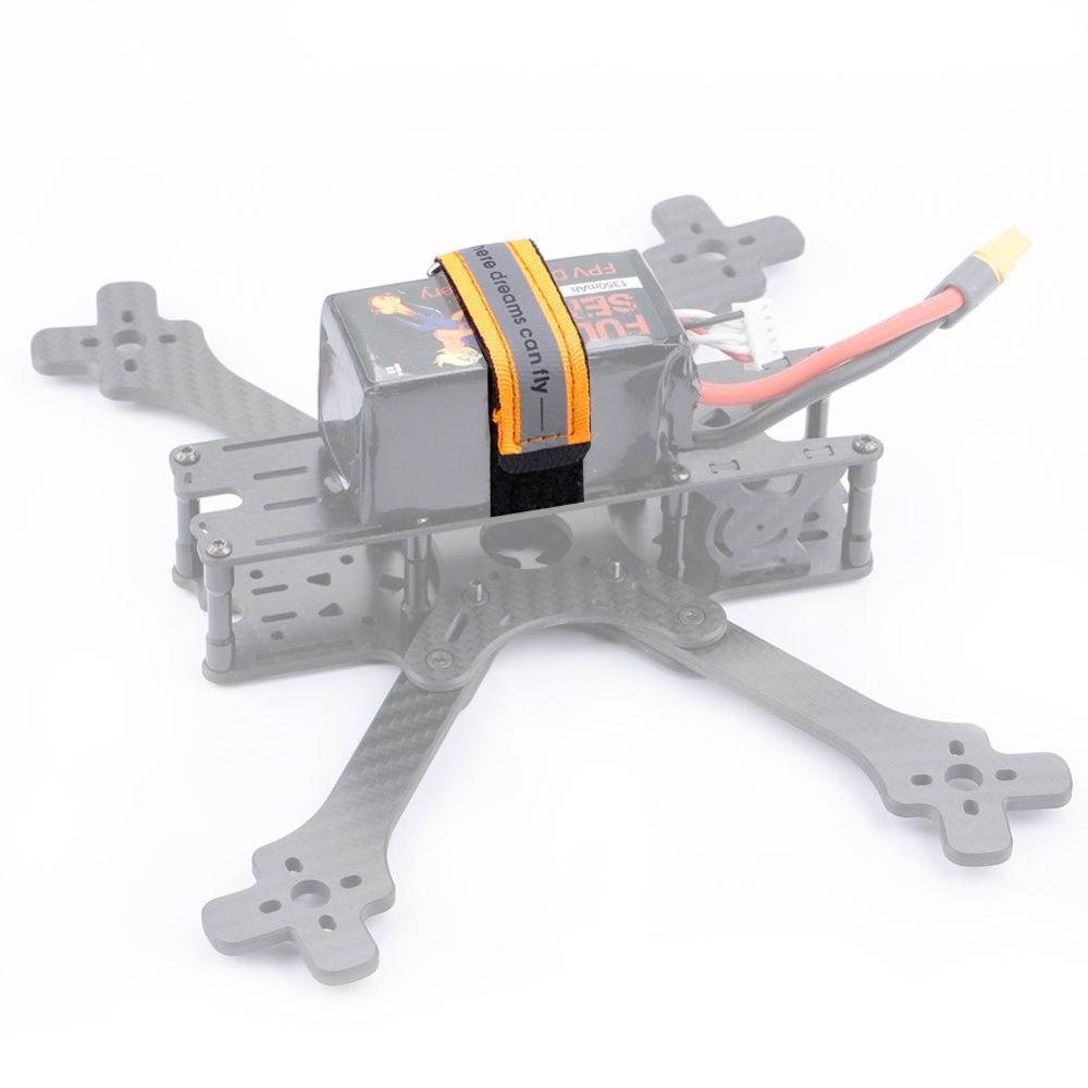 Sangles orange fluo pour batterie LiPo 20x250 mm - iFlight