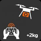 Session de démonstration drones professionnels (+2kg)