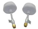 Set antennes type cloverleaf 5,8 GHz DJI