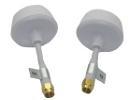 Set antennes type cloverleaf 5,8 GHz DJI