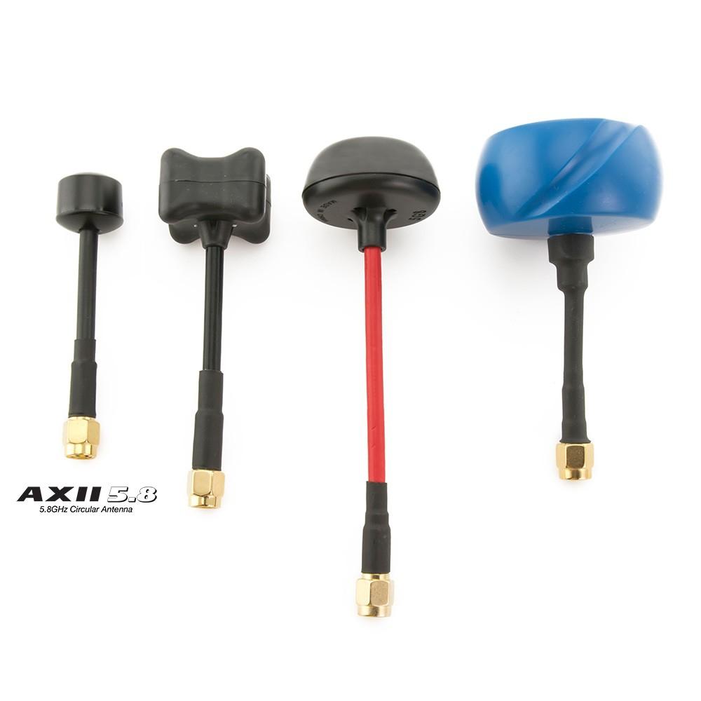 Set d'antennes AXII 5.8Ghz RHCP Lumenier comparaison avec d'autres antennes
