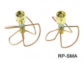 Set d'antennes cloverleaf courtes RHCP 5,8GHz - RP-SMA