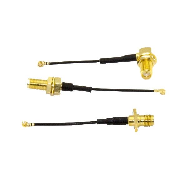 Set de 3 connecteurs UFL vers SMA pour TrampHV