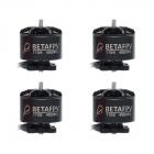 Set de 4 moteurs brushless 1106 4500Kv - BetaFPV