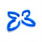 Set de 4 protections de bras pour le Minikeum bleu