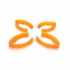 Set de 4 protections de bras pour le Minikeum orange