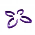 Set de 4 protections de bras pour le Minikeum violet