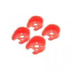 Set de 4 protections pour moteurs 18XX et 22XX rouges