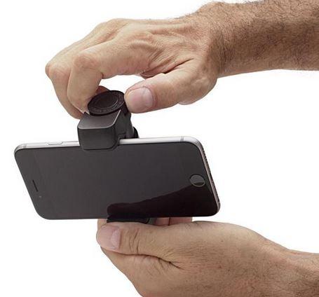 ShoulderPod G1 support smartphone