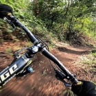 Slick - Stabilisateur pour GoPro installé sur un vélo